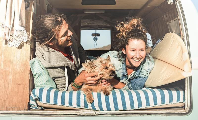 Location camping-car avec votre chien